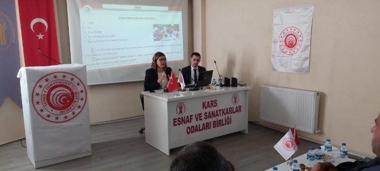 Kars'ta 'İyi Uygulama Örnekleri' Çalıştayı