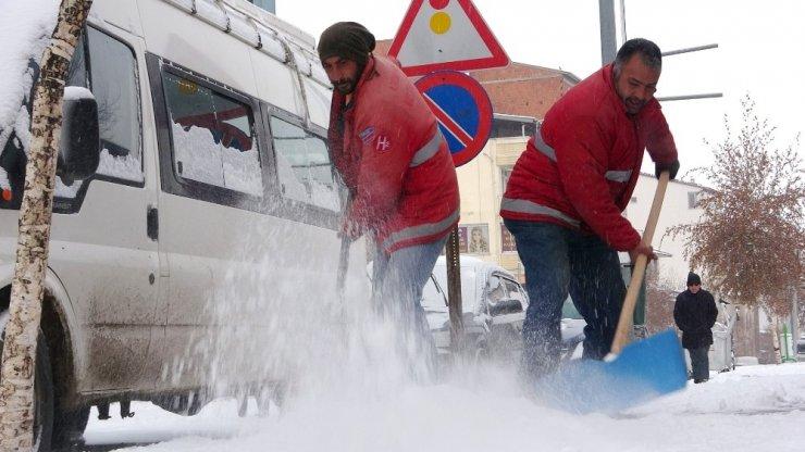 Ardahan'a Beklenen Kar Yağdı