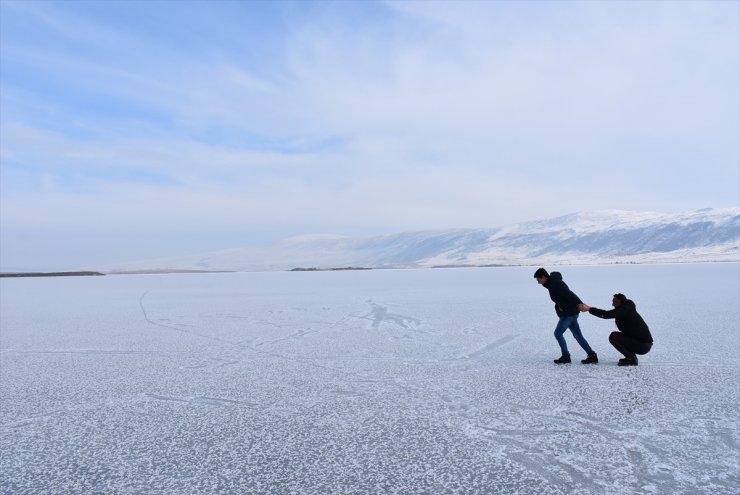 Aktaş Gölü'nde Görsel Şölen