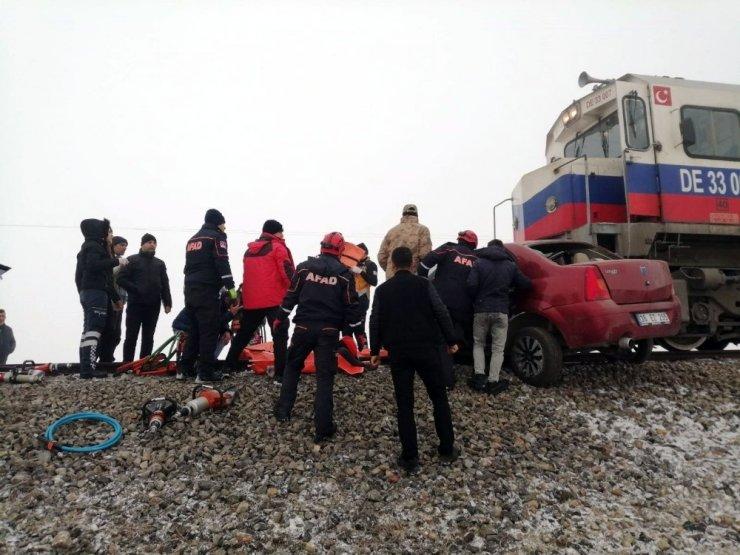Kars'ta Tren Kazası: 3 Ölü