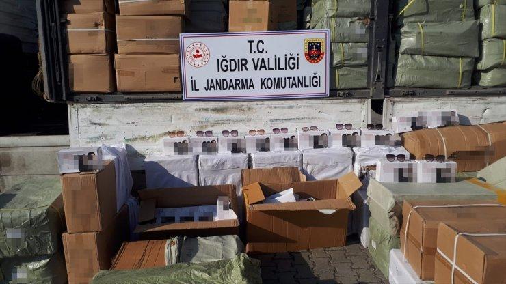 Iğdır'da Gümrük Kaçağı Gözlük Operasyonu