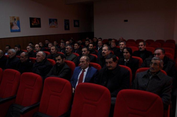 Arpaçay'da 'Muhtarlara Hizmet İçi' Eğitim