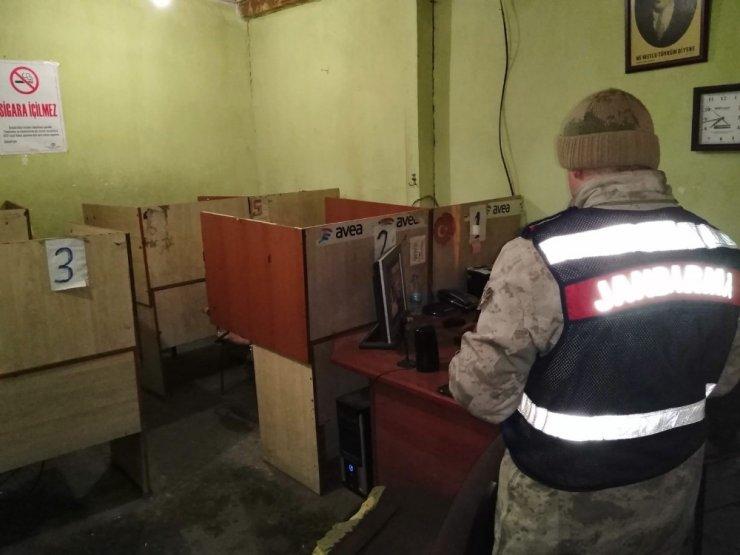 Kars'ta Jandarma'nın Huzur Uygulamaları Devam Ediyor
