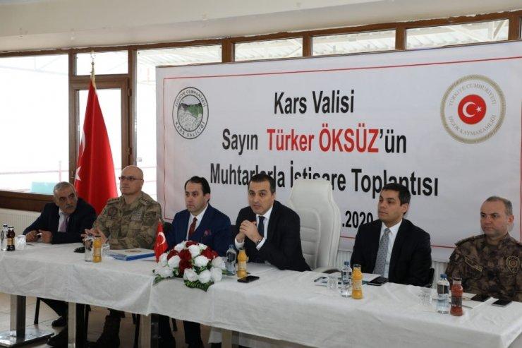 Kars Valisi Türker Öksüz Digor'da