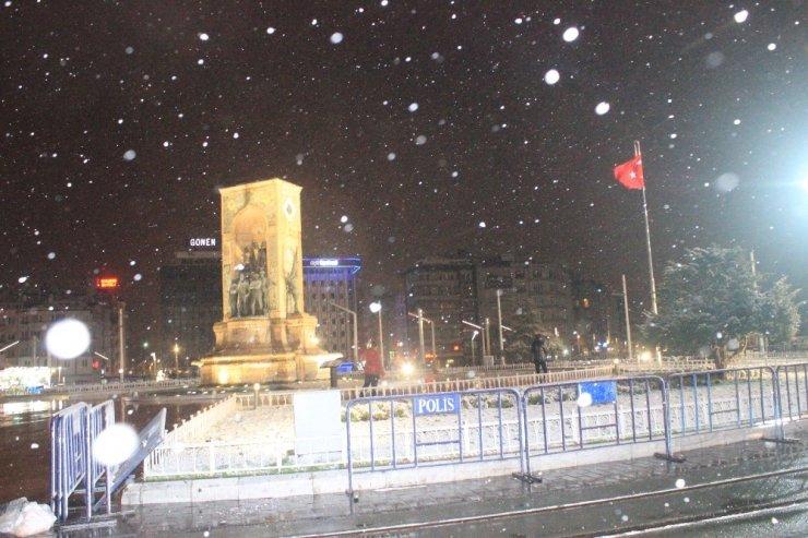 İstanbul'da Kar Yağışı