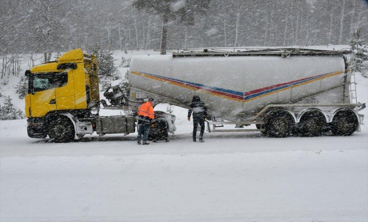 Kars'ta Kar Yağışı Ve Tipi Yaşamı Olumsuz Etkiliyor