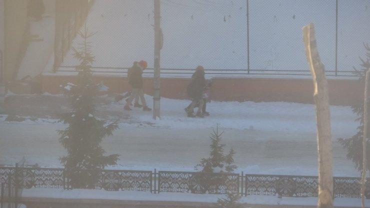Ardahan'da Dondurucu Soğuklar