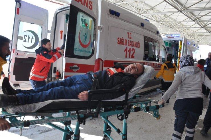Kars'ta 'Zehirlenme' Tatbikatı