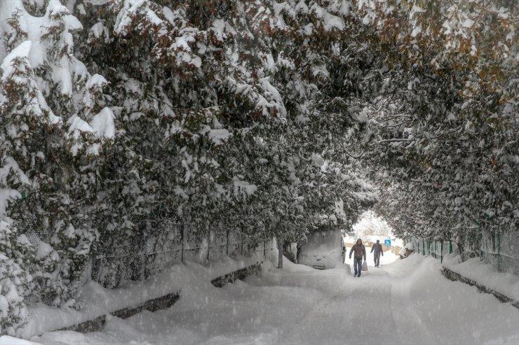 Doğu'da Kar Yağışı Ve Soğuk Hava Etkisini Sürdürüyor