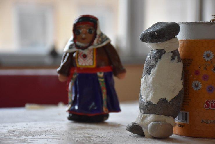 'Çakıl Taşları' Sanat Eserine Dönüşüyor