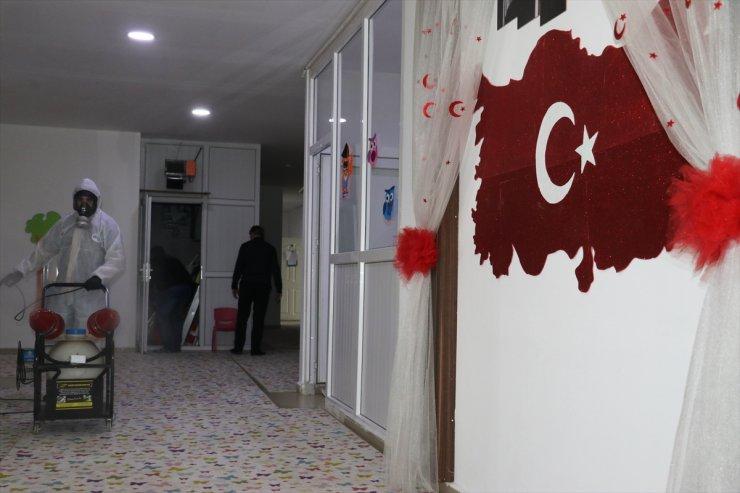 Erzurum, Ağrı ve Kars'ta Dezenfekte İşlemleri