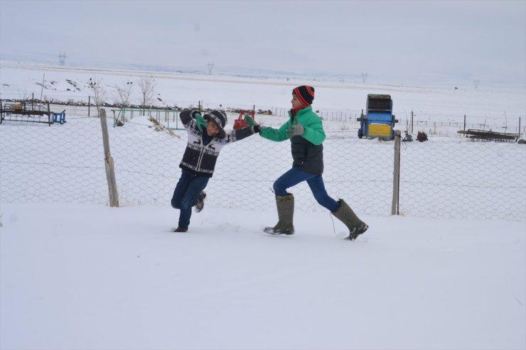 Kars ve Erzurum Beyaza Büründü