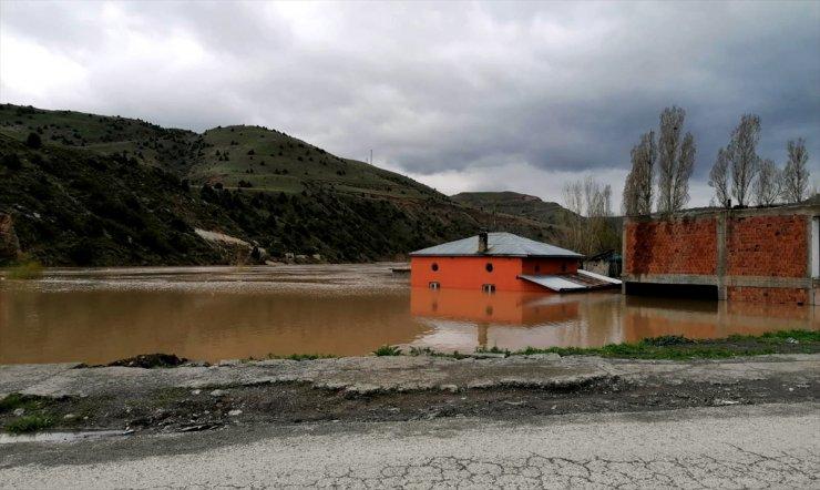 Karakurt'ta Baraj Suları Yükselirken