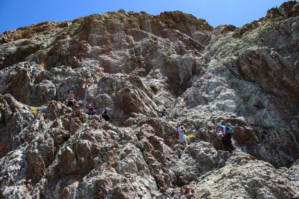 'Tekelti Dağı'na Tırmanış Gerçekleşti