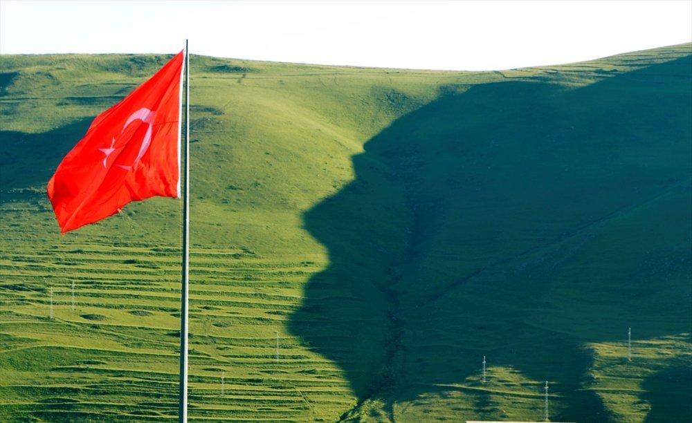 'Atatürk Silueti' Görülmeye Başlandı
