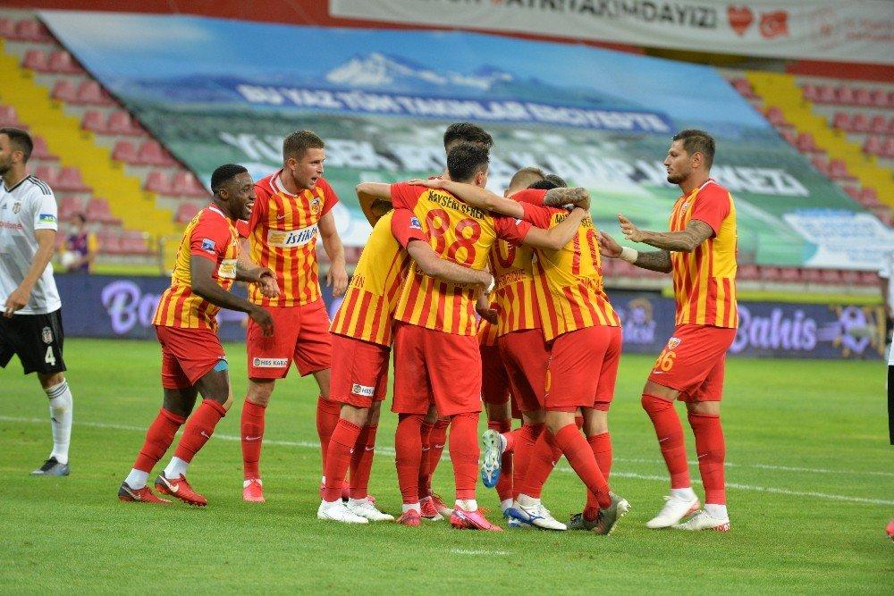 Süper Lig   Beşiktaş Kayseri'de Kaybetti