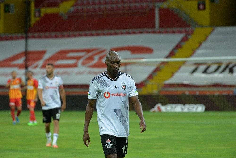 Süper Lig | Beşiktaş Kayseri'de Kaybetti