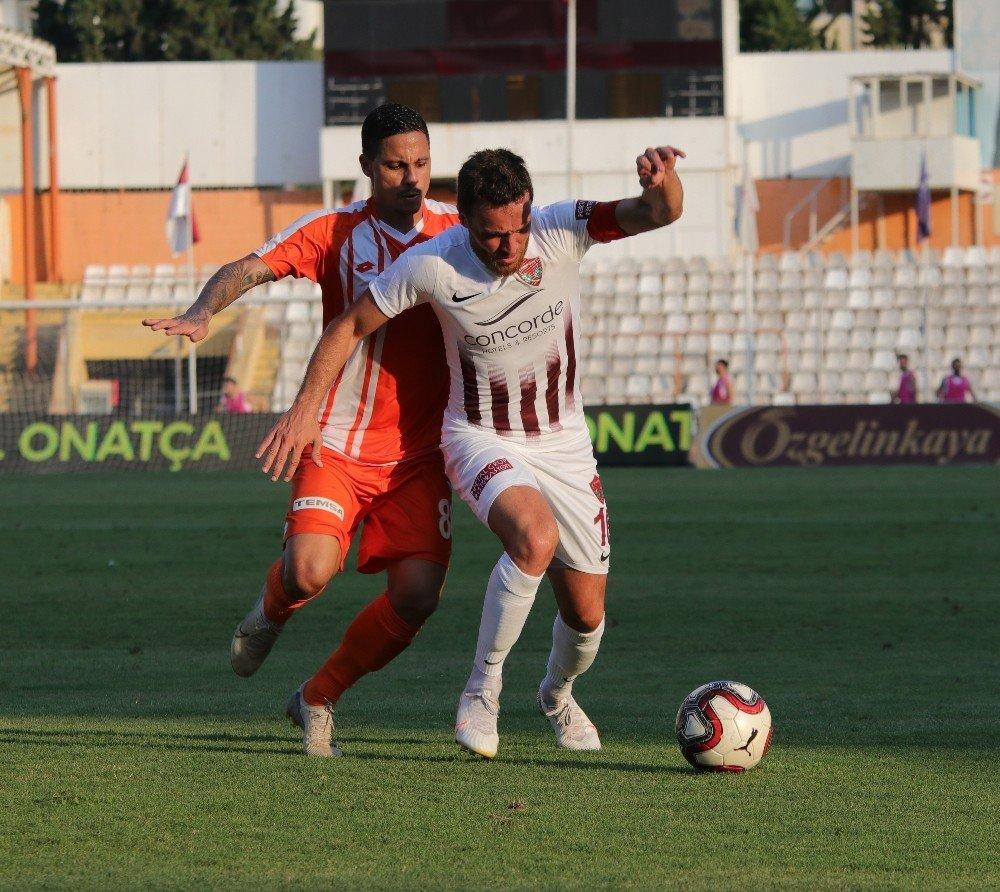 Tff 1.lig: Adanaspor: 1 - Hatayspor: 2