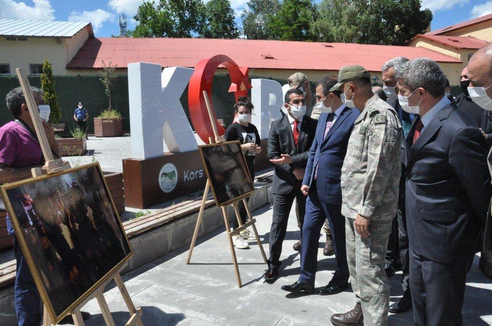 15 Temmuz | Kars'ta Resim Sergisi Açıldı