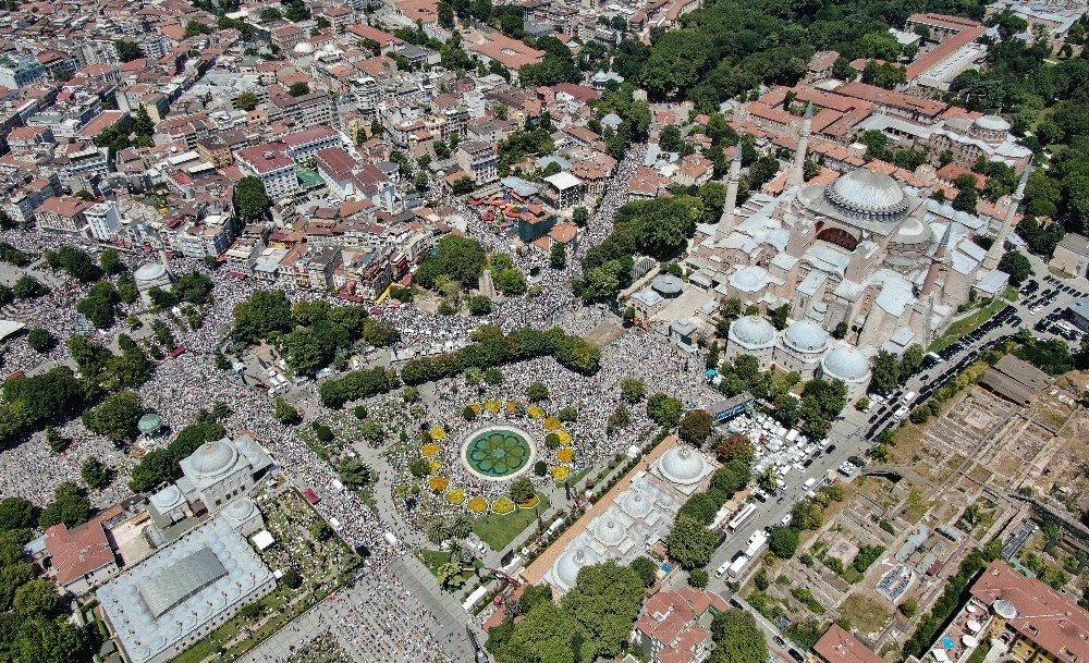 İstanbul | Ayasofya'da İlk Cuma