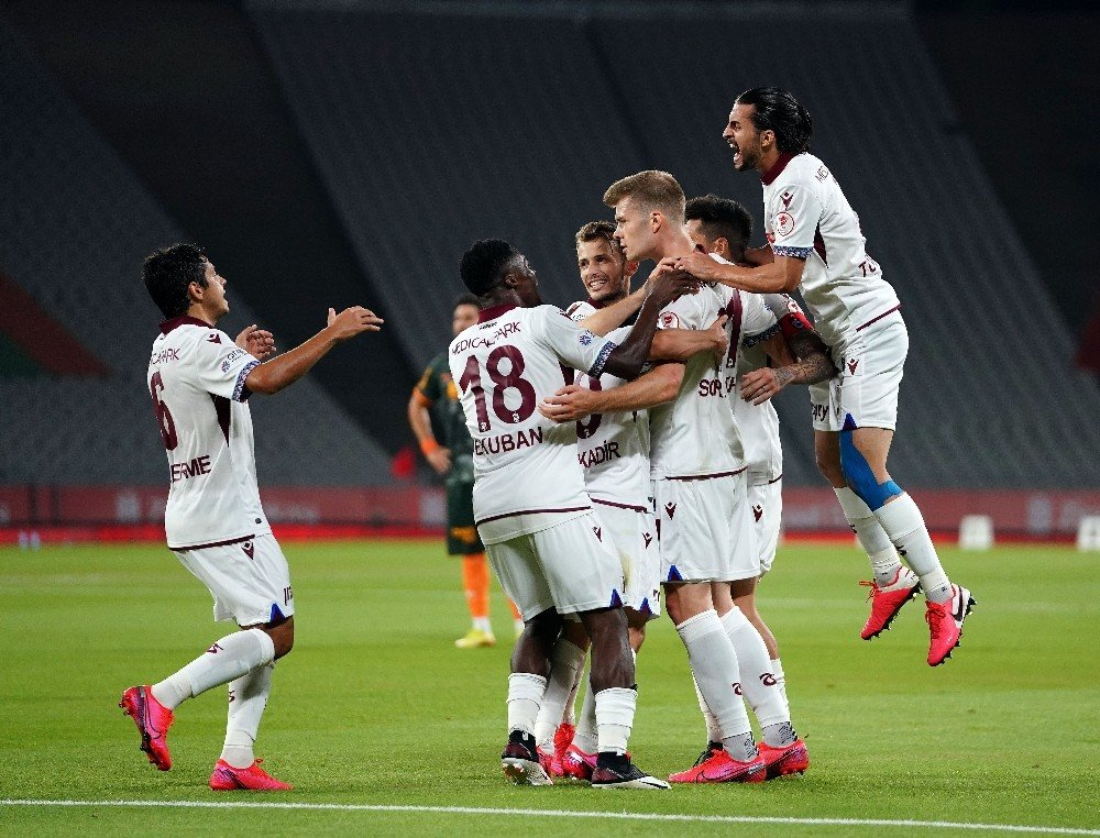Ziraat Türkiye Kupası Trabzonspor'un
