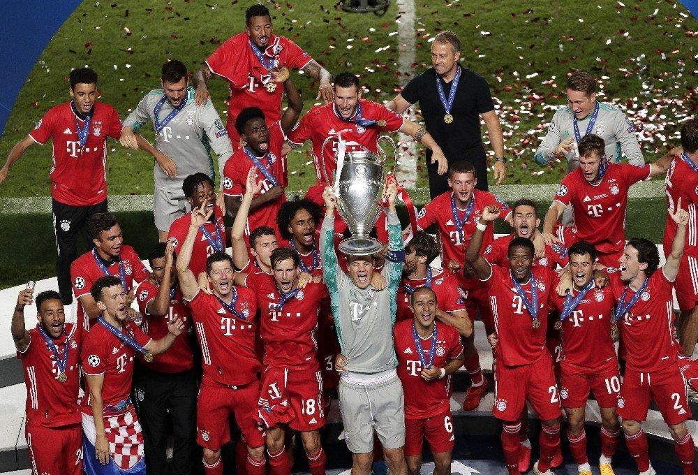 Şampiyonlar Ligi Kupası Bayern Münih'in