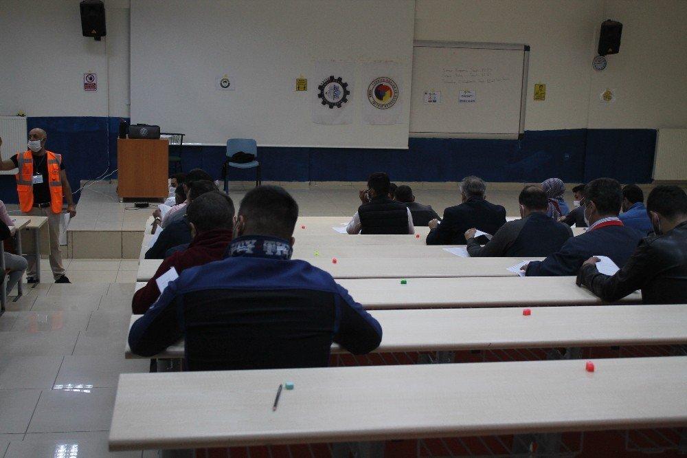 Kars'ta 'Galericiler' İçin Yeterlilik Belgesi Sınavı Yapıldı