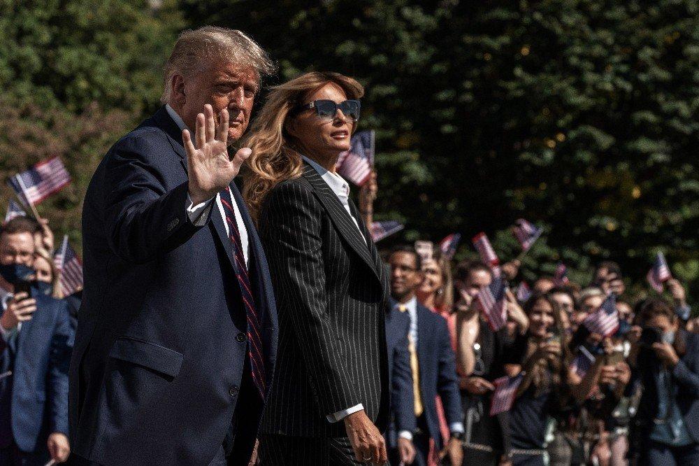 Trump Çiftinin Covid-19 Testi Pozitif Çıktı