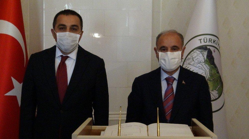 Emniyet Genel Müdürü Mehmet Aktaş Kars'ta