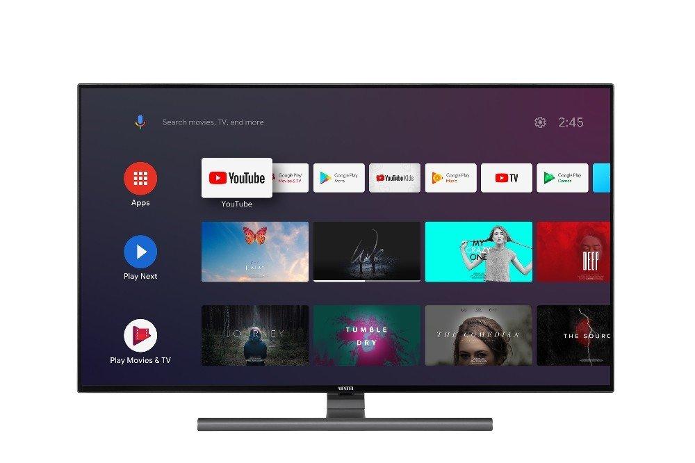 Vestel'in Android Tv'si Tanıtıldı