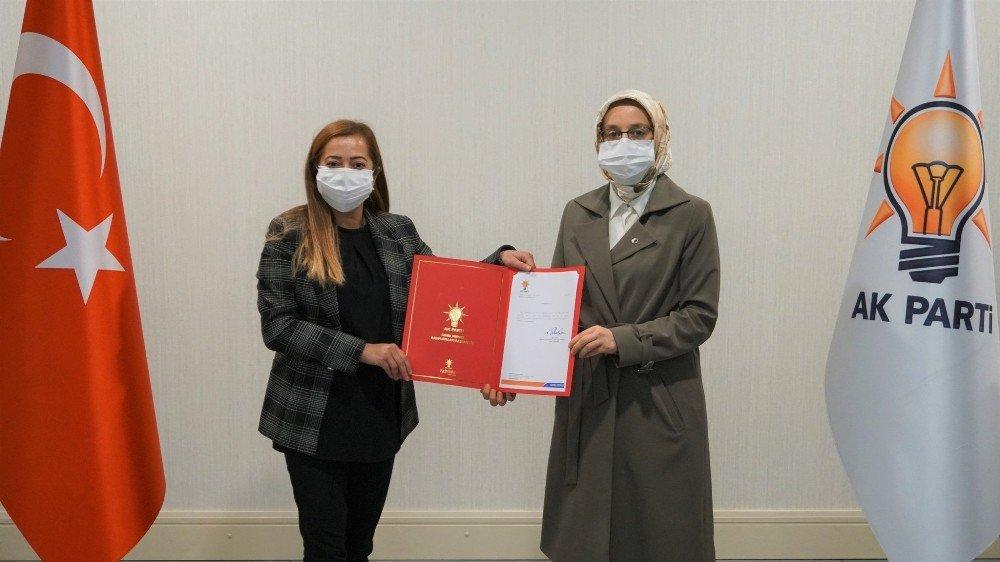 Zelal Sara 'Kadın Kolları Başkanlığı'na Atandı