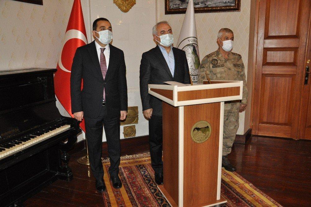 İçişleri Bakan Yardımcısı Ersoy Kars'ta