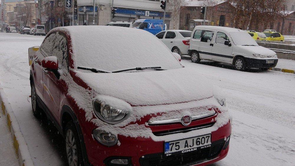 Ardahan'da Yoğun Kar Yağışı