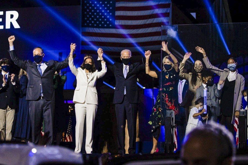 ABD  Joe Biden'ın Başkanlığı Onaylandı