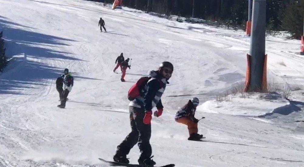 Sarıkamış'ta 'Kayak Sezonu' Açıldı