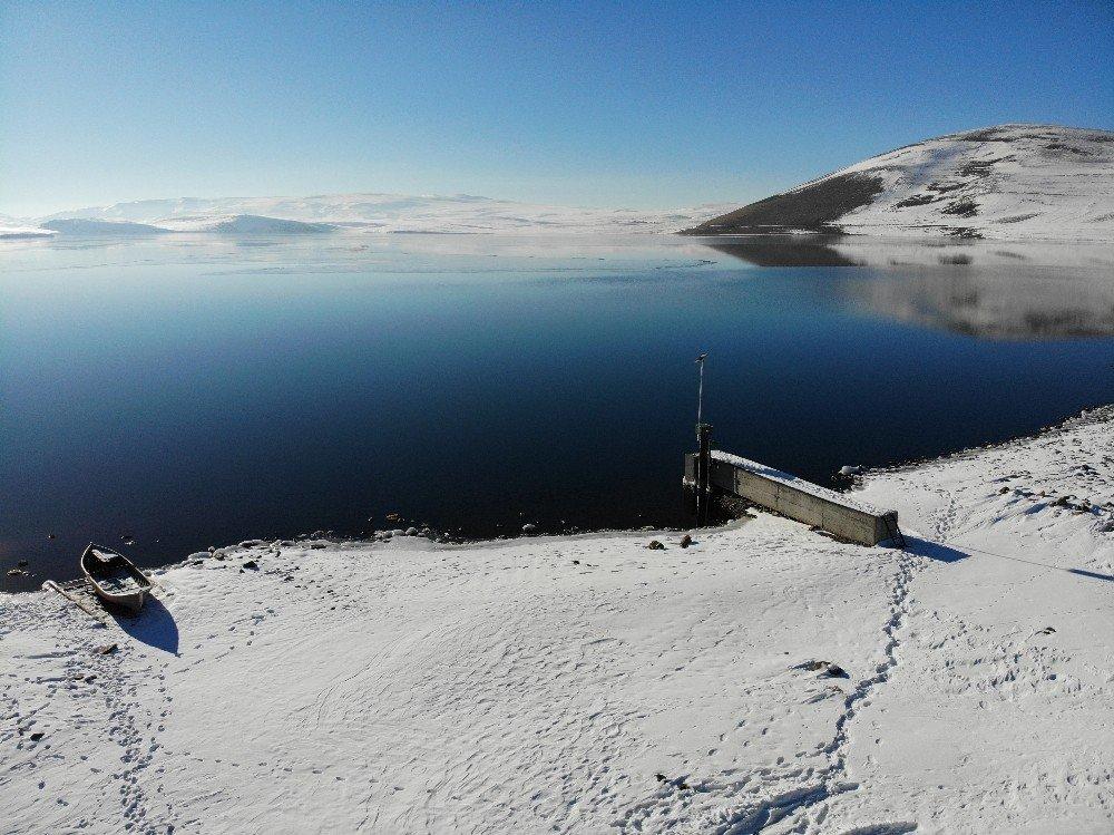 'Aygır Gölü'nden Kartpostallık Görüntüler