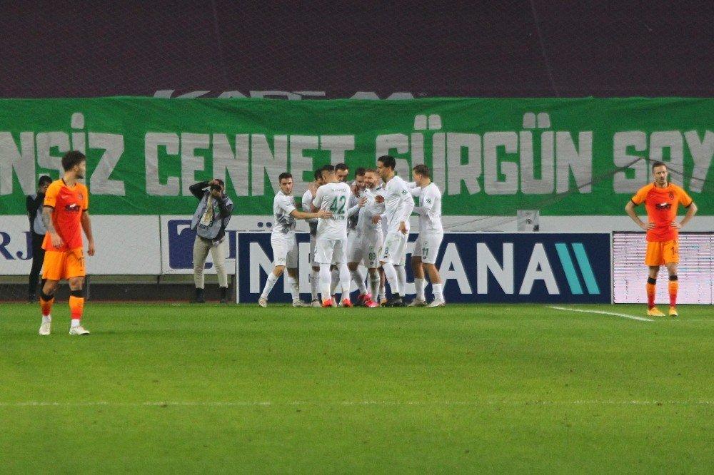 Konyaspor: 4 - Galatasaray: 3