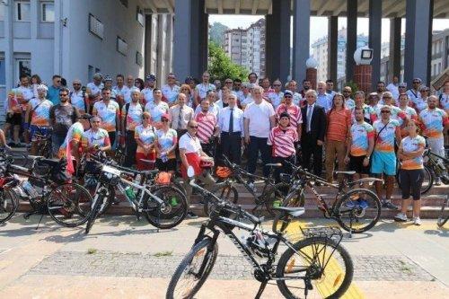 2.karadeniz Bisiklet Festivali Başladı