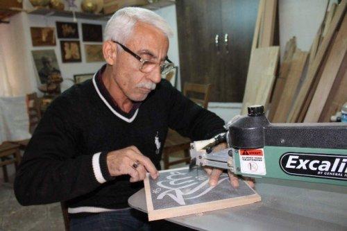 50 Yıllık Mobilya ve Ahşap Oyma Ustası Sanatını Anlattı