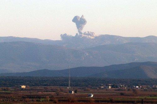 Afrin Uçaklarla Bombalanıyor