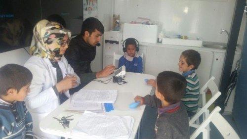 Ağrı'da Okul Çağı Çocuklarda İşitme Taraması
