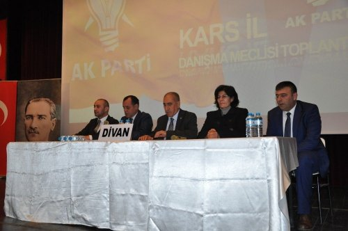AK Parti'de Danışma Meclis Toplantısı Yapıldı