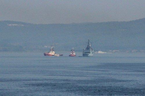 Alman Savaş Gemisi Çanakkale'ye Geldi
