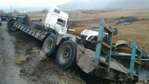 Ardahan'da Trafik Kazası: 2 Yaralı