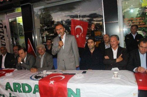 Ardahan'da Yerel İrade Platformu Üyeleri, Darbe Girişimine Ortak Tepki Gösterdi