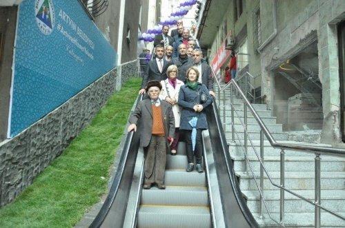 Artvin'e Yürüyen Merdiven