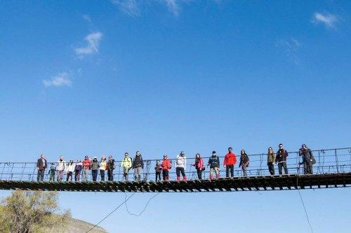 Asma Köprü'ye Dağcılardan Yoğun İlgi
