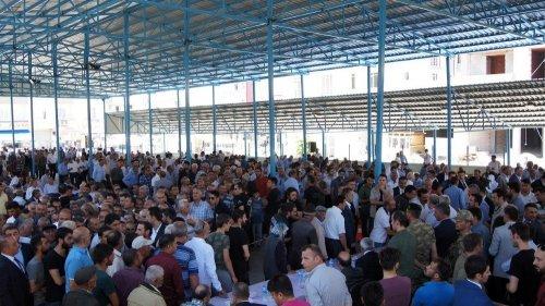 Bakan Arslan, Kağızman'da Taziyeleri Kabul Etti