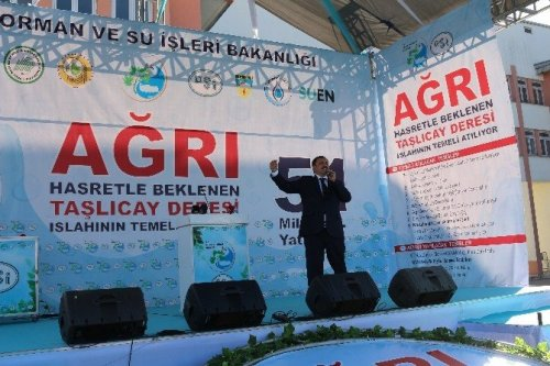 Bakan Eroğlu Ağrı'da Toplu Açılış Törenine Katıldı
