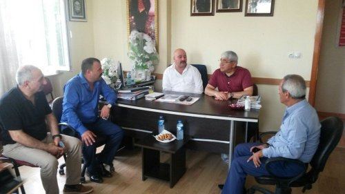 Başkan Karaçanta, Darıca'ya Gitti